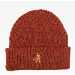 BONNET PASSPORT WROKERS BEANIE - BURNT ORANGE