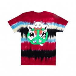 T-SHIRT RIPNDIP PEACE NO LOVE - TIE DYE