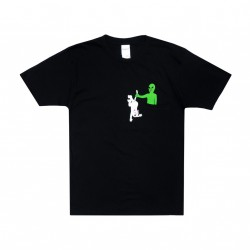 T-SHIRT RIPNDIP HUNG UP POCKET - BLACK
