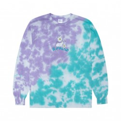 T-SHIRT RIPNDIP MAGICAL PLACE LS - TIE DYE