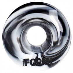ROUES NAKED FORM WHEELS SWIRL BLACK WHITE - 52MM