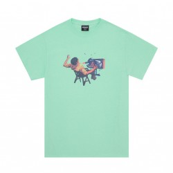 T-SHIRT HOCKEY ULTRAVIOLENCE TEE - MINT