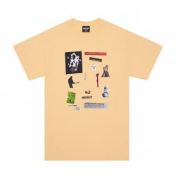 T-SHIRT HOCKEY SUMMONED TEE - YELLOW HAZE