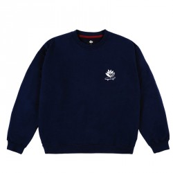 SWEAT MAGENTA CRUISE CREWNECK - NAVY