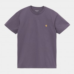 T-SHIRT CARHARTT WIP CHASE - PROVENCE GOLD