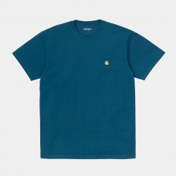 T-SHIRT CARHARTT WIP CHASE - CORSE GOLD