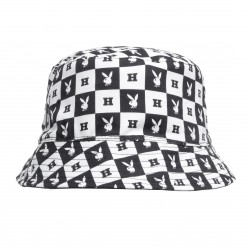 BOB HUF X PLAYBOY REVERSIBLE BUCKET - BLACK