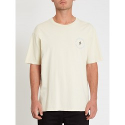 T-SHIRT VOLCOM OZZY WRONG SS TEE - OFF WHITE