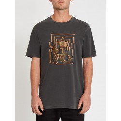 T-SHIRT VOLCOM STONE REVEAL SS TEE - BLACK