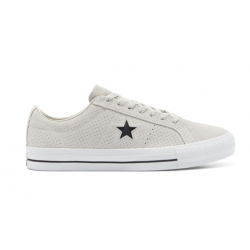 CHAUSSURES CONVERSE ONE STAR PRO OX - PALE PUTTY WHITE