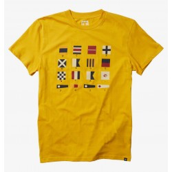 T-SHIRT DC SHOES X MAGENTA - BRIGHT YELLOW