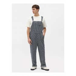 SALOPETTE DICKIES EKWOK BIB - HICKORY STRIPES