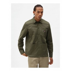 CHEMISE DICKIES FUNKLEY SHIRT - MILITARY GREEN