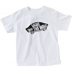 T-SHIRT VANS OTW BOY - WHITE
