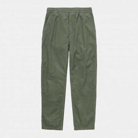 PANTALON CARHARTT FLINT - GREEN RINSED