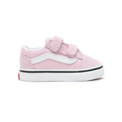 CHAUSSURES VANS OLD SKOOL V ENFANT - LILAC SNOW TRUE WHITE
