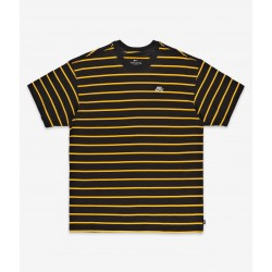 T-SHIRT NIKE SB STRIPE - UNIVERSITY GOLD