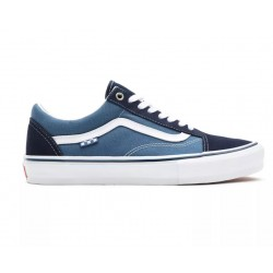 CHAUSSURES VANS OLD SKOOL SKATE - NAVY WHITE