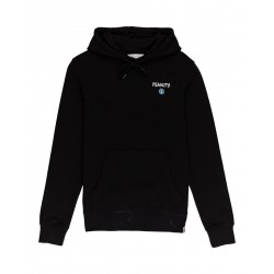 SWEAT ELEMENT PEANUTS GOOD TIMES HODDIE - BLACK