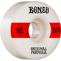 ROUES BONES 100'S 52MM V4 - WHITE