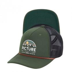 CASQUETTE PICTURE ORGANIC KULDO TRUCKER - PINE GREEN