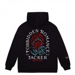 SWEAT JACKER FORBIDDEN ROMANCE - BLACK
