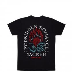 T-SHIRT JACKER FORBIDDEN ROMANCE - BLACK