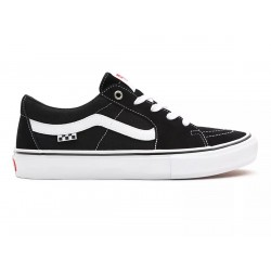 CHAUSSURES VANS SKATE SK8-LOW - BLACK WHITE