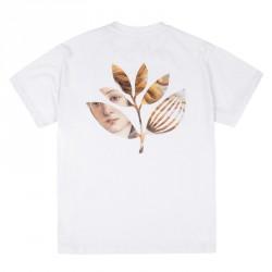 T-SHIRT MAGENTA BOTTICELLI PLANT - WHITE