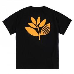 T-SHIRT MAGENTA CLASSIC PLANT - BLACK