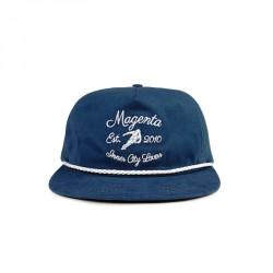 CASQUETTE MAGENTA CLUB HAT - NAVY