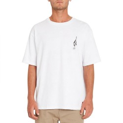 T-SHIRT VOLCOM LOOSE TRUCKS LSE - WHITE