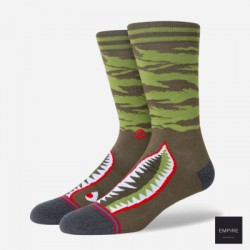 CHAUSSETTES STANCE WARBIRD - OLIVE