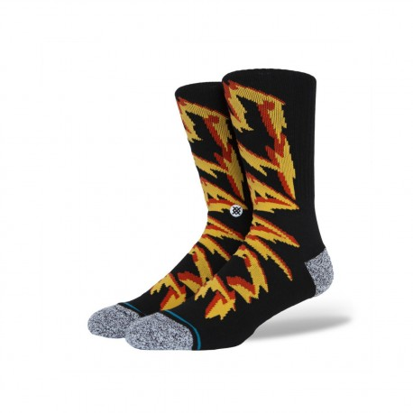 CHAUSSETTES STANCE ELECTRIFIED - BLACK