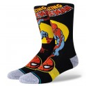 CHAUSSETTES STANCE SPIDERMAN MARQUEE - BLACK