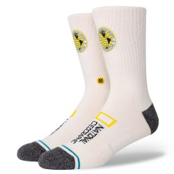 CHAUSSETTES STANCE EXPLORERS PATCH - OFFWHITE