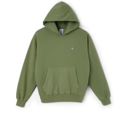 SWEAT POLAR PATCH - HEATHER GREEN