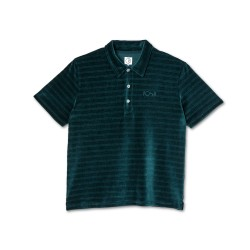 POLO POLAR STRIPE VELOUR - DARK GREEN