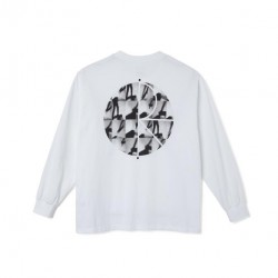 T-SHIRT POLAR SEQUENCE FILL LS - WHITE