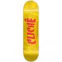 BOARD CLICHE BANCO RHM YELLOW - 7.75
