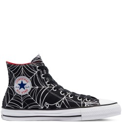 CHAUSSURES CONVERSE CHUCK TAYLOR ALL STAR HIGH PRO - BLACK UNIVERSITY RED WHITE