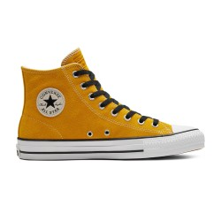 CHAUSSURES CONVERSE CHUCK TAYLOR ALL STAR HIGH PRO SUED - GOLD DART WHITE BLACK