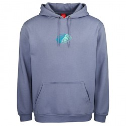 SWEAT SANTA CRUZ UNIVERSAL DOT HOOD - WASHED NAVY