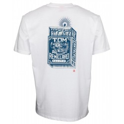 T-SHIRT SANTA CRUZ REMILLARD MAKO MATCHBOX - WHITE