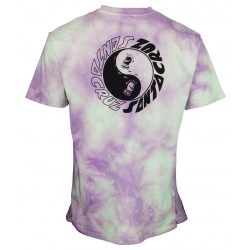 T-SHIRT SANTA CRUZ SCREAM YIN YANG CHEST - TRIPPY CLOUD
