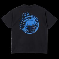 T-SHIRT LAST RESORT AB WORLD TEE - BLACK