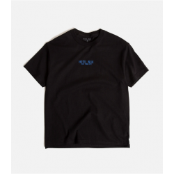 T-SHIRT HOTEL BLUE LOGO - BLACK