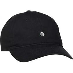 CASQUETTE ELEMENT FLUKY DAD CAP - ALL BLACK