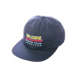 CASQUETTE WELCOME RACE SNAPBACK HAT - NAVY