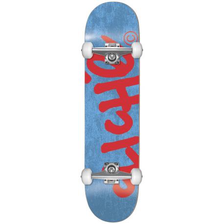 BOARD COMPLETE CLICHE HANDWRITTEN BLUE RED - 7.375